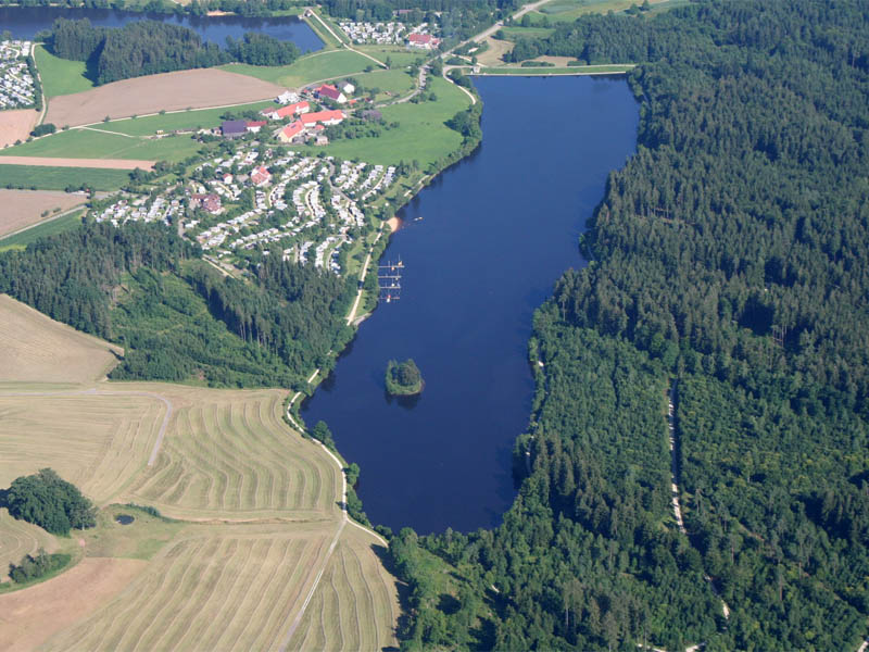 Haselbach-Stausee